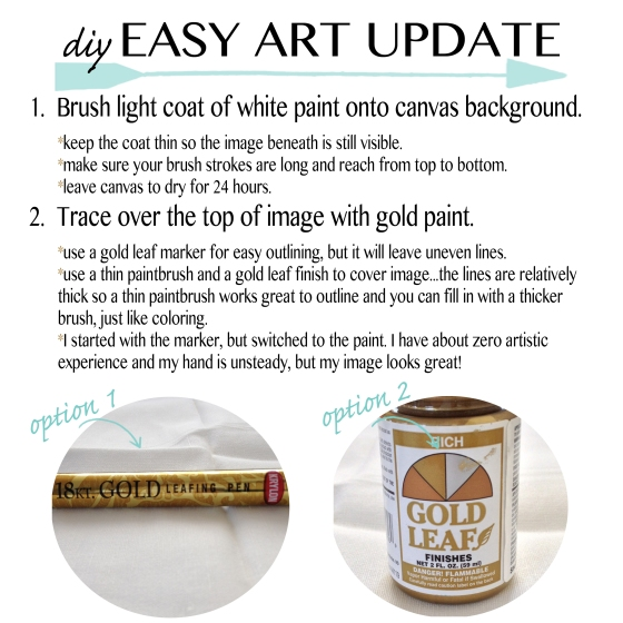 diy easy art update