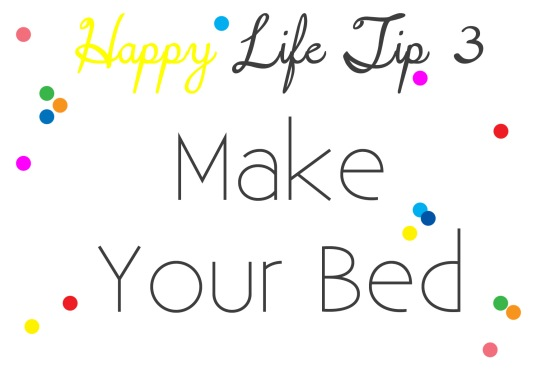 hl tip3-make your bed